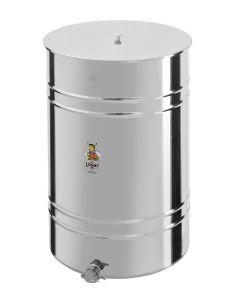 Posuda za med od 430 kg - slavina od nehrđajućeg čelika 6/4''