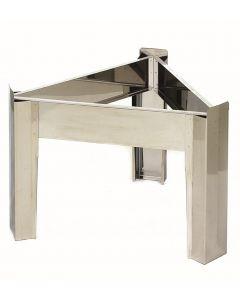 Stalak za posudu promjera 40 cm od nehrđajućeg čelika