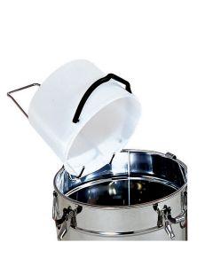 Držač posude za pretakanje meda od nehrđajučeg čelika