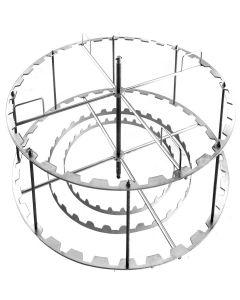 Vrcaljka 32 okvira, radijalna s automatikom i motorom 370 W/230 V (Logar)